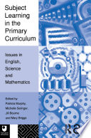 Subject Learning in the Primary Curriculum