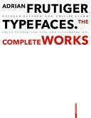 Pdf Adrian Frutiger – Typefaces Telecharger
