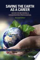 Saving the Earth as a Career Book