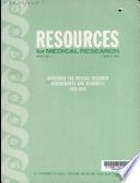 Manpower For Medical Research Requirements And Resources