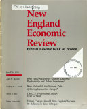 New England Economic Review