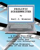 Prolific Screenwriter Book PDF