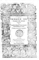 Instrument Du Premier Notaire
