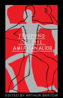 Training Of The American Actor Book
