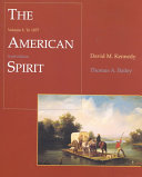 The American Spirit To 1877