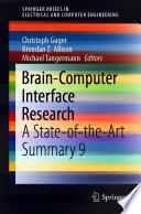 Brain Computer Interface Research Book