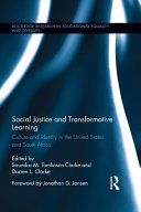Social Justice and Transformative Learning: Culture and Identity in ...