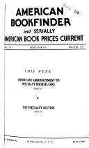 American Bookfinder and Serially American Book Prices Current