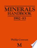 Minerals Handbook 1982   83