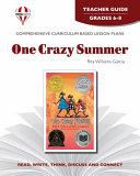 One Crazy Summer Teacher Guide