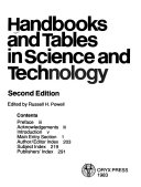 Handbooks and Tables in Science and Technology Book