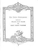 The Tudor Shakespeare  Twelfth night  or What you will