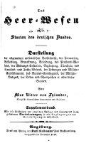 Das heer-wesen der staaten des deutschen bundes