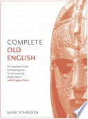 Complete Old English Book PDF