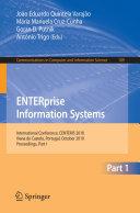 ENTERprise Information Systems, Part I