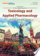 Proceedings of 15th Euro-Global Summit on Toxicology and Applied Pharmacology 2018