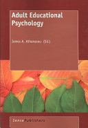 Cover of Adult Educational Psychology