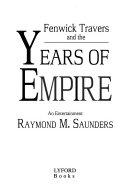 Pdf Fenwick Travers and the Years of Empire