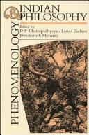 Phenomenology and Indian Philosophy