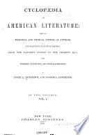 Cyclopædia of American Literature