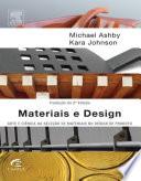 Materiais e design