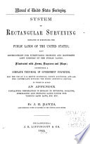Manual of United States Surveying