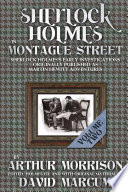 Sherlock Holmes In Montague Street Volume 2 Book PDF