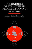 Techniques Of Structured Problem Solving Book PDF