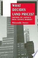 What Decides Land Prices