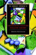 The Cambridge Companion To Twentieth Century English Poetry