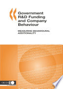 Government R D Funding and Company Behaviour Measuring Behavioural Additionality