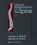 Clinical Biomechanics of the Spine Book