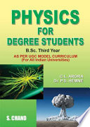 Physics for Degree Students for B.Sc. 3rd Year