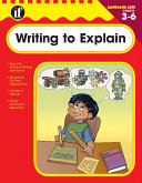 Writing to Explain  Grades 3   6