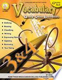 Vocabulary  Grades 3   4 Book