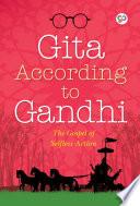 Gita According to Gandhi Book