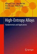 High Entropy Alloys Book