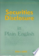 Securities disclosure in plain English