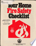 Your Home Fire Safety Checklist Book