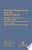 Disaster Preparedness and the United Nations Book