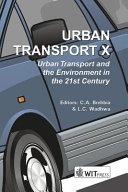Urban Transport X Book