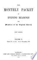 The Monthly Packet of Evening Readings for Members of the English Church