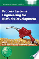 Process Systems Engineering For Biofuels Development Book PDF