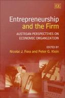 Entrepreneurship and the Firm Pdf/ePub eBook