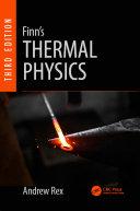 Finn's Thermal Physics, Third Edition