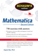 Schaum s Outline of Mathematica  Second Edition