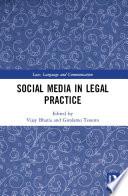 Social Media in Legal Practice Book