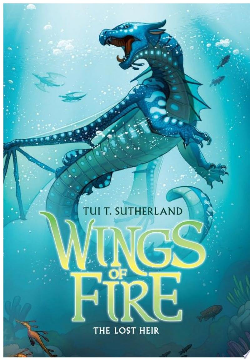 Wings of Fire Book Two: The Lost Heir banner backdrop