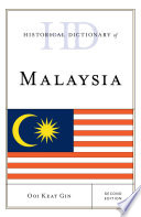 Historical Dictionary of Malaysia