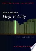 Nick Hornby's High Fidelity